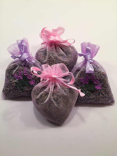 Organic Lavender Sachets