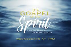 The Gospel of the Spirit