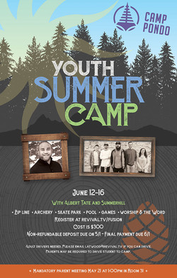 Youth Summer Camp / Poster