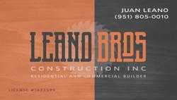 Leano Bros Construction