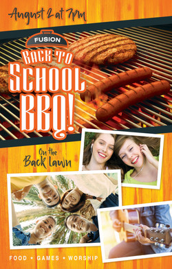 After School BBQ / Poster