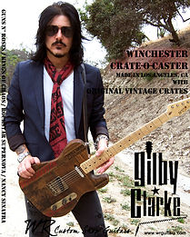 Gilby Clarke WR Winchester Crate-O-Caster Guitar