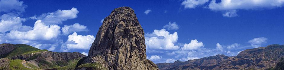 Ein Blick auf La Gomera