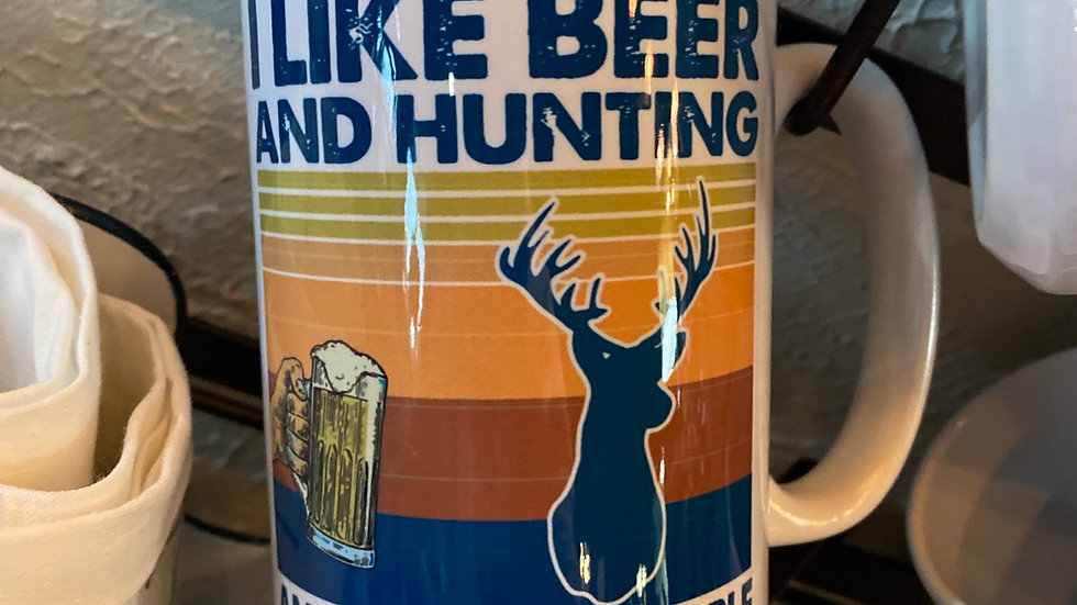 I like Beer and Hunting