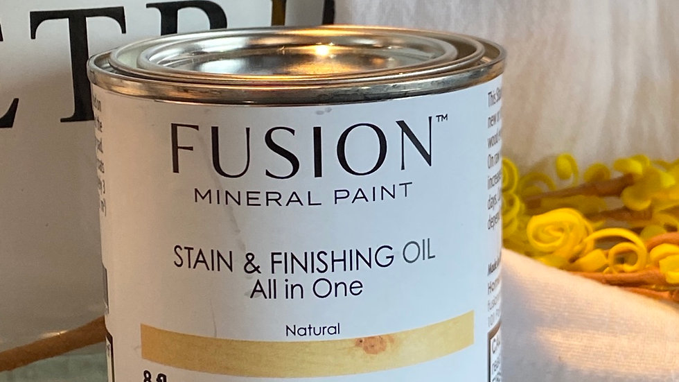 Stain and Finishing Oil - Natural