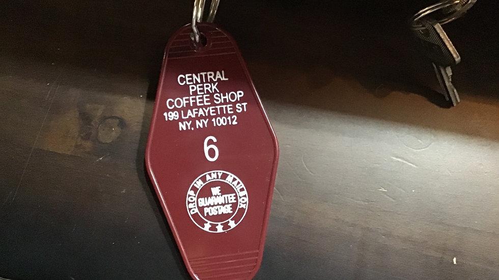 Vintage Key Ring - Central Perk
