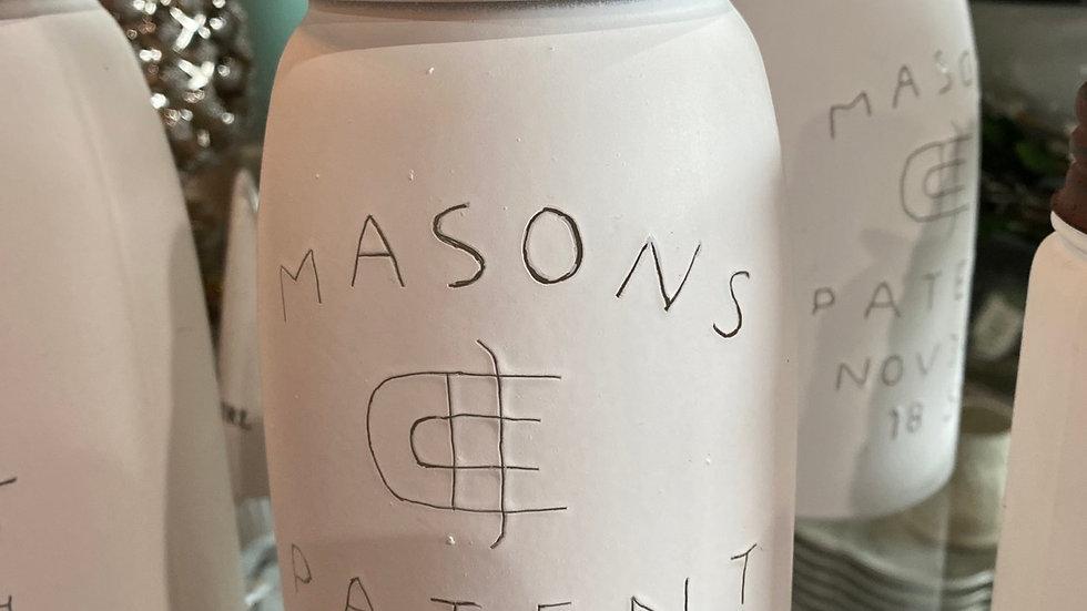 Large Mason Soap Dispenser