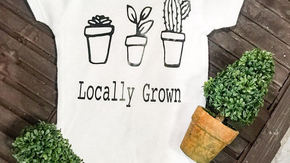 Locally Grown Onesie