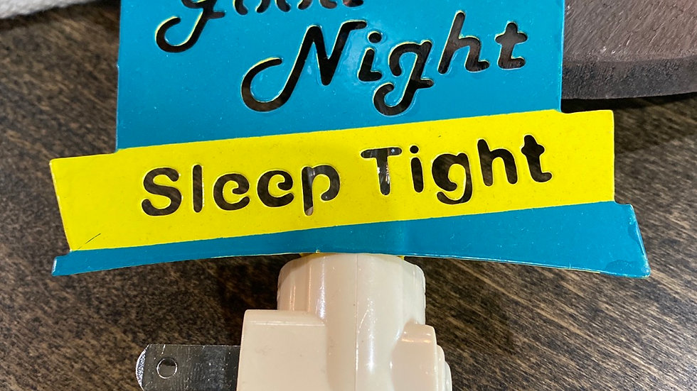 Good Night Sleep Tight night light
