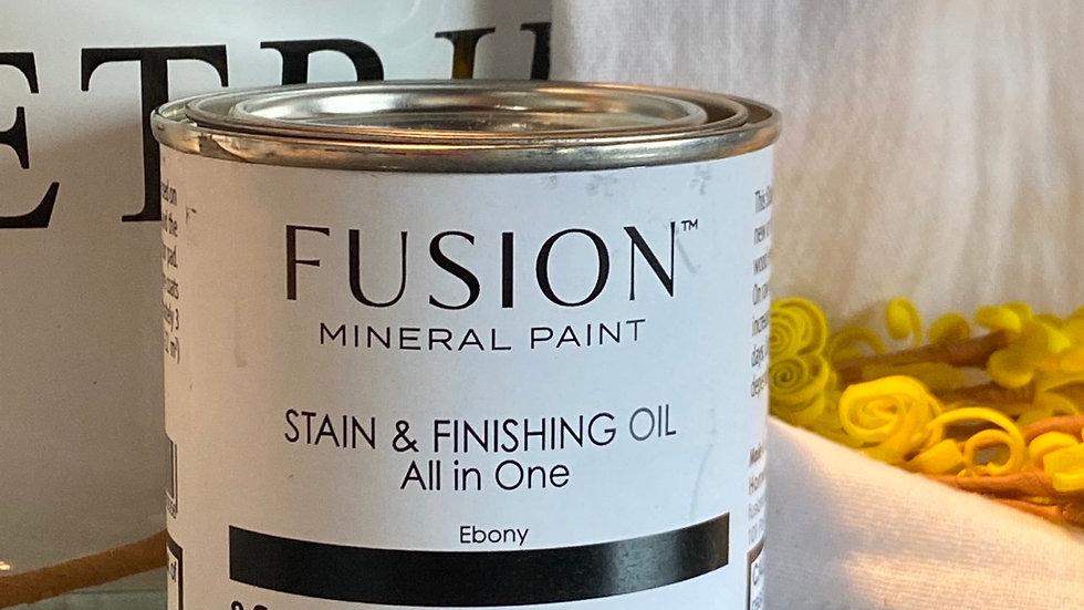 Stain and Finishing Oil - Ebony