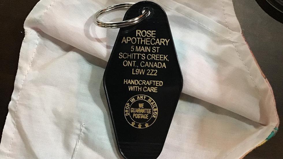 Vintage Key Ring - Rose Apothecary