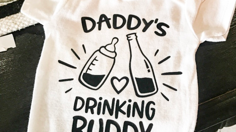 Daddy's Drinking Buddy Onsie