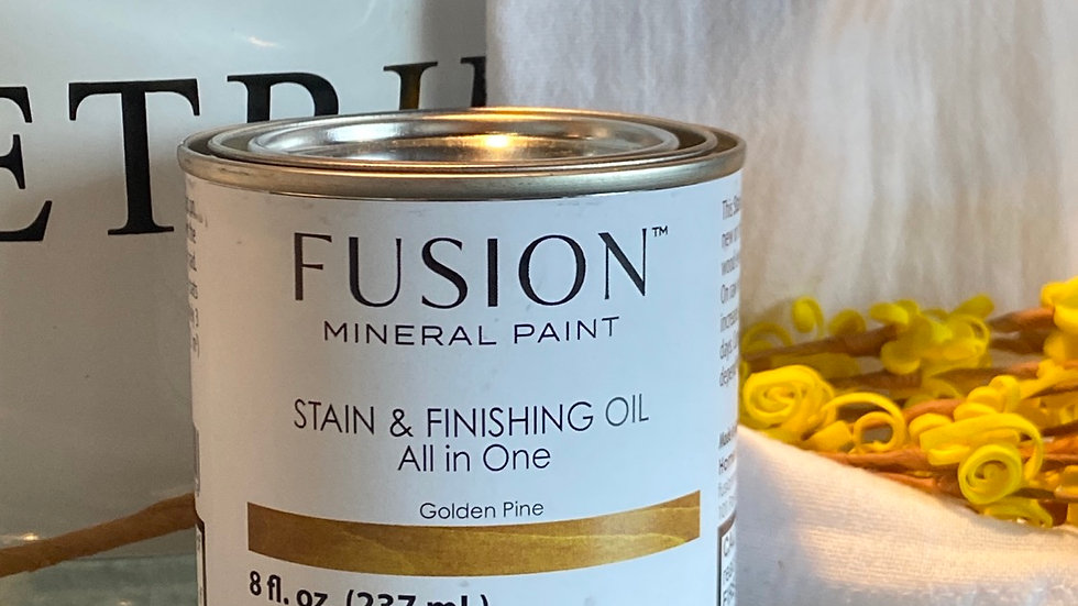 Stain and Finishing Oil - Golden Pine