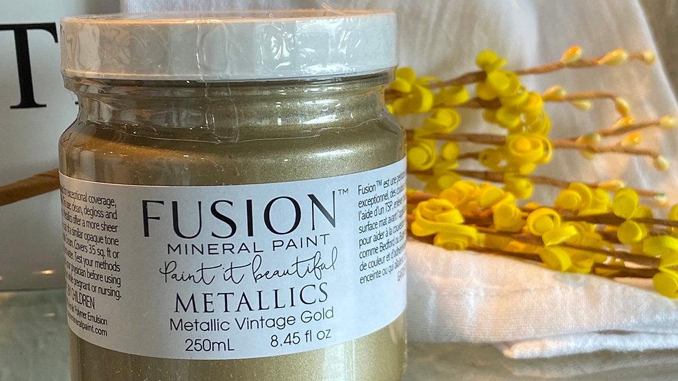 Metallics- Metallic Vintage Gold