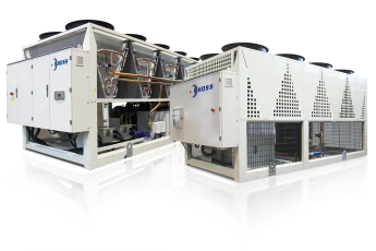 Air cooled chillers & heat pumps