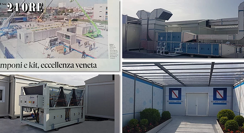 Some Good News! 120 new intensive care beds for Italy!