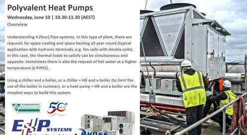 Australian Webinar - Rhoss 4 Pipes EXP Polyvalent Heat Pumps