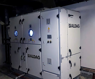 Vertical type - Air handling units
