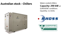 Australia, looking for chillers in Stock