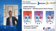 AIRAH Webinar: Polyvalent – Multipurpose Heat Pumps