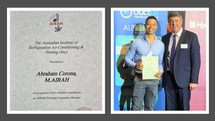 Our MD | Engineering Manager receives AIRAH recognition