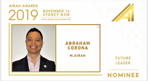 Corona to the AIRAH Awards 2019