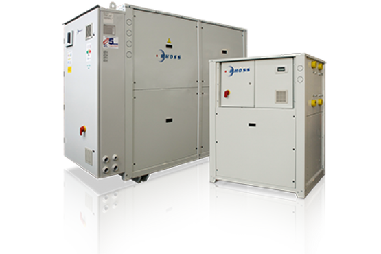 Water cooled chillers & heat pumps