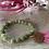 Thumbnail: Perlenarmband, grün matt