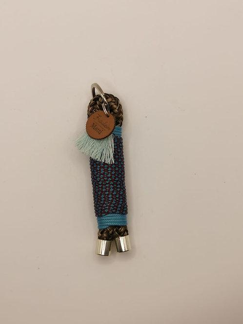 Schlüsselanhänger, silber