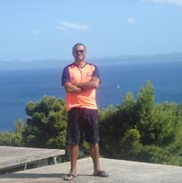 2012 travels - Hvar, Croatia - david in