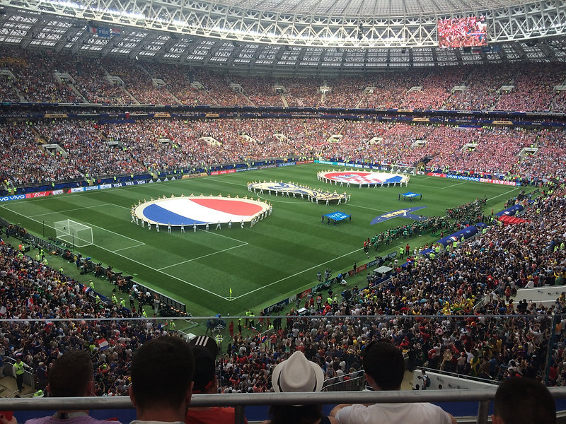 2018 world cup - Moscow, Russia - france