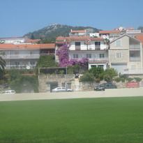 2012 travels - Hvar, Croatia - field w h