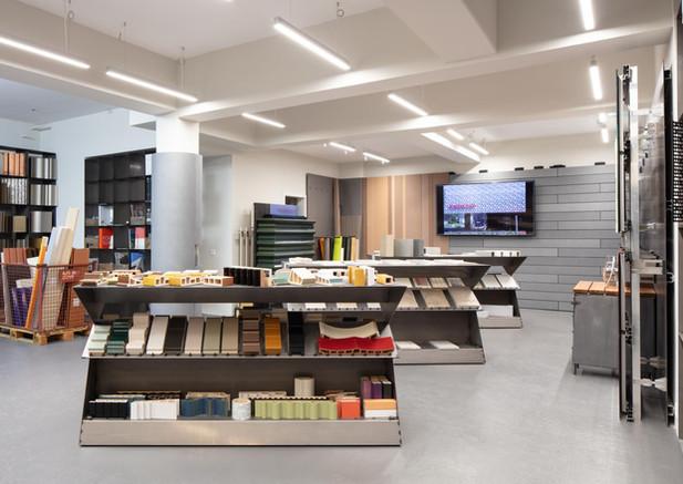Design-Ausstellungstisch