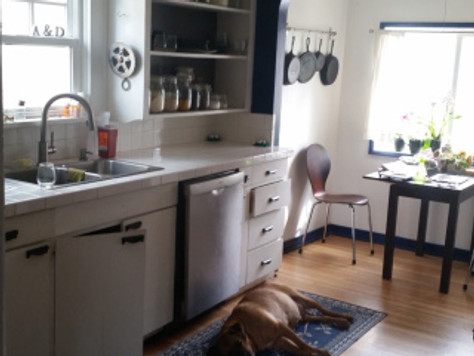 Before & After: Our DIY Eco-Kitchen Remodel