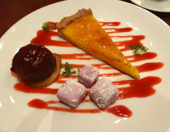 The most wonderful Christmas Eve dinner, a surprise evening from start to finish, at A La Bouffe in South Yarra.