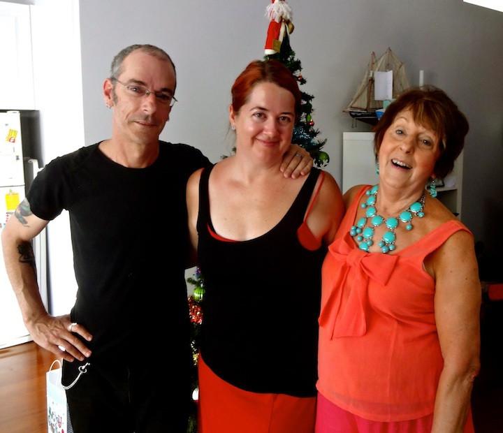 Dan, me and Mum :)