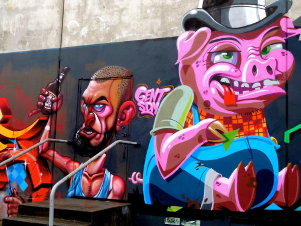 More rad street art.