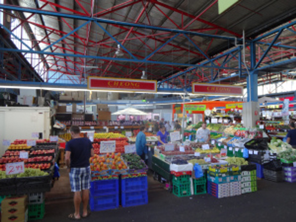 totally loved prahran market - and a great escape from the heat to boot!