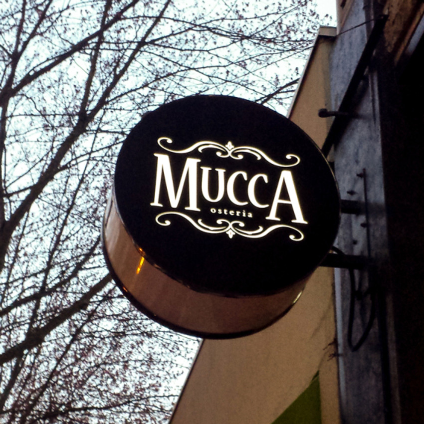 Still thinking about our dinner at Mucca Osteria where we celebrated Dan's birthday.