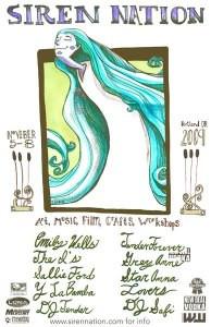 Siren Nation Artist Reception this Thursday