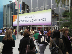 Finally…Pix from the Women's Conference