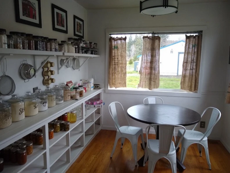 Before + After: From Cowboy Breakfast Nook to Modern Farmhouse Pantry