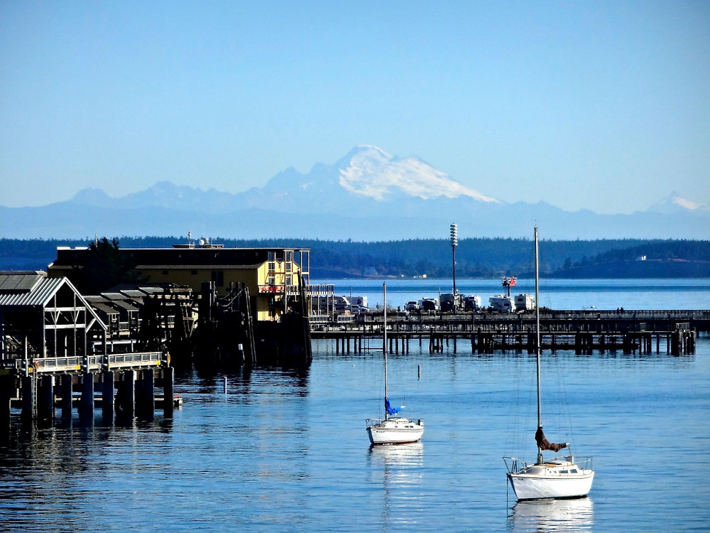 On the ferry leaving Port Townsend...pretty pretty!