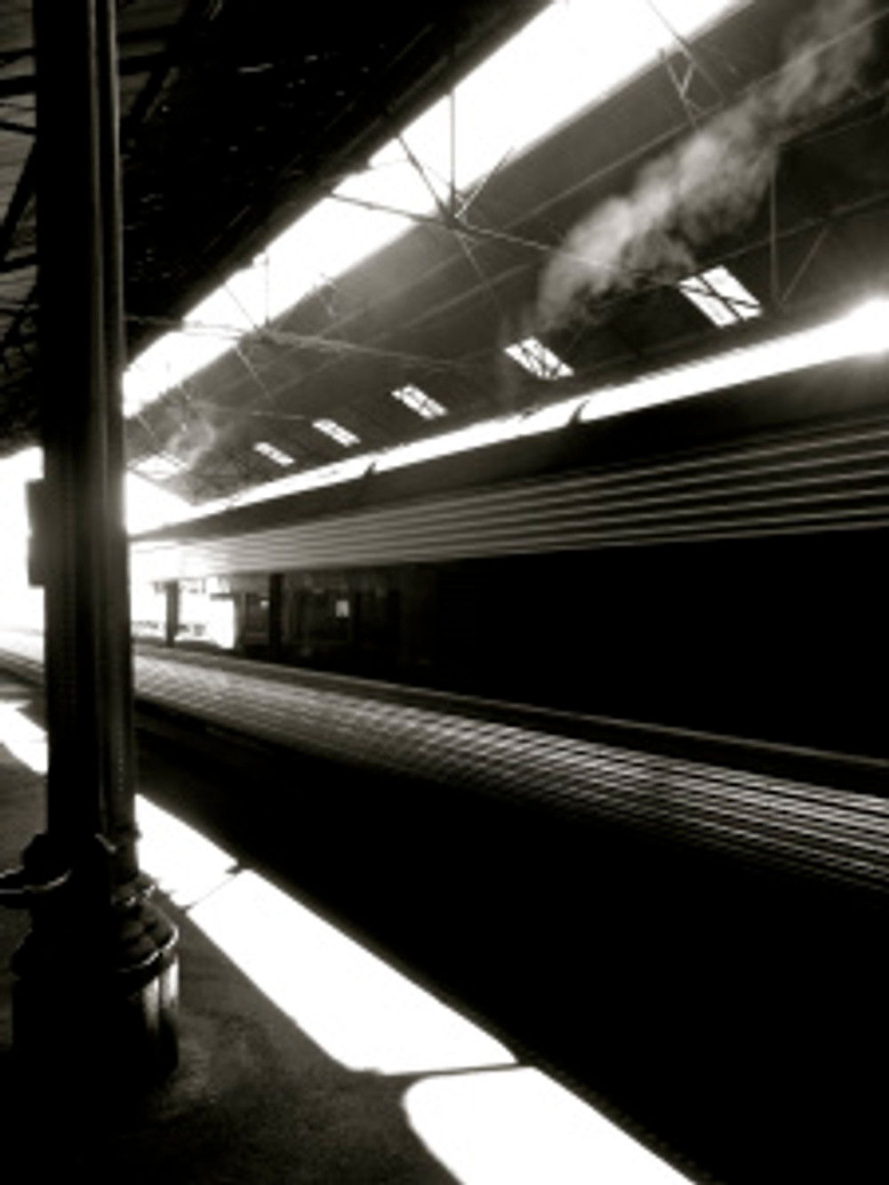 loved the lines...train stations are rad...