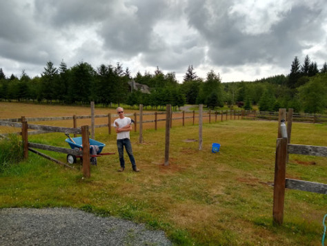Before + After: Turning Pasture into a Veggie Garden (...cheap!)