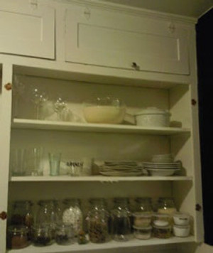Before & After: Creating Open Shelving