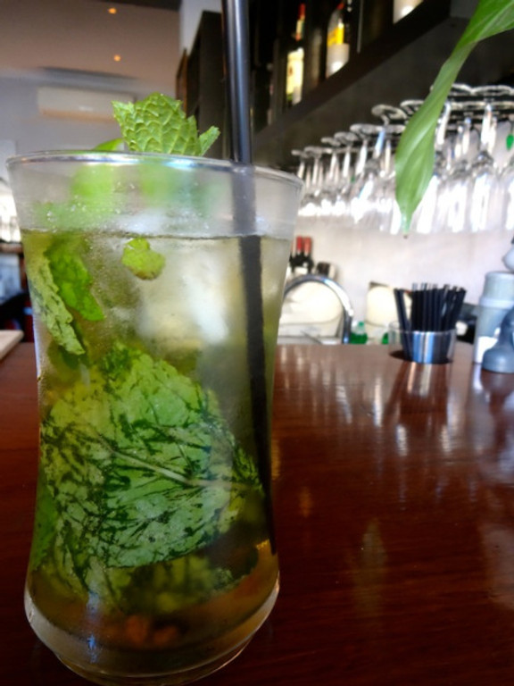 killer mojito, perfect for the hot spell, at Graze on Grey