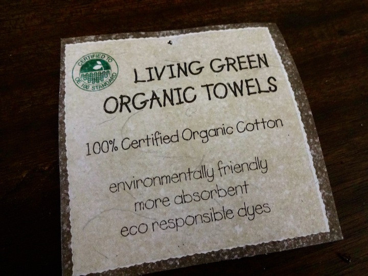 Invested in a couple new organic towels that are not only made from organic cotton but also use azo-free dyes, which is a chemical many in the textile industry use that has been proven to be a carcinogen.