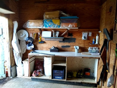 Barn Cleanup + The 100% Repurposed-Material Workbench