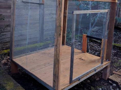 Building a Duck Coop & Run – Whew!